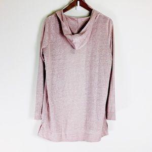Tahari NWT Pastel Rose Pink Hooded Cardigan Sz L